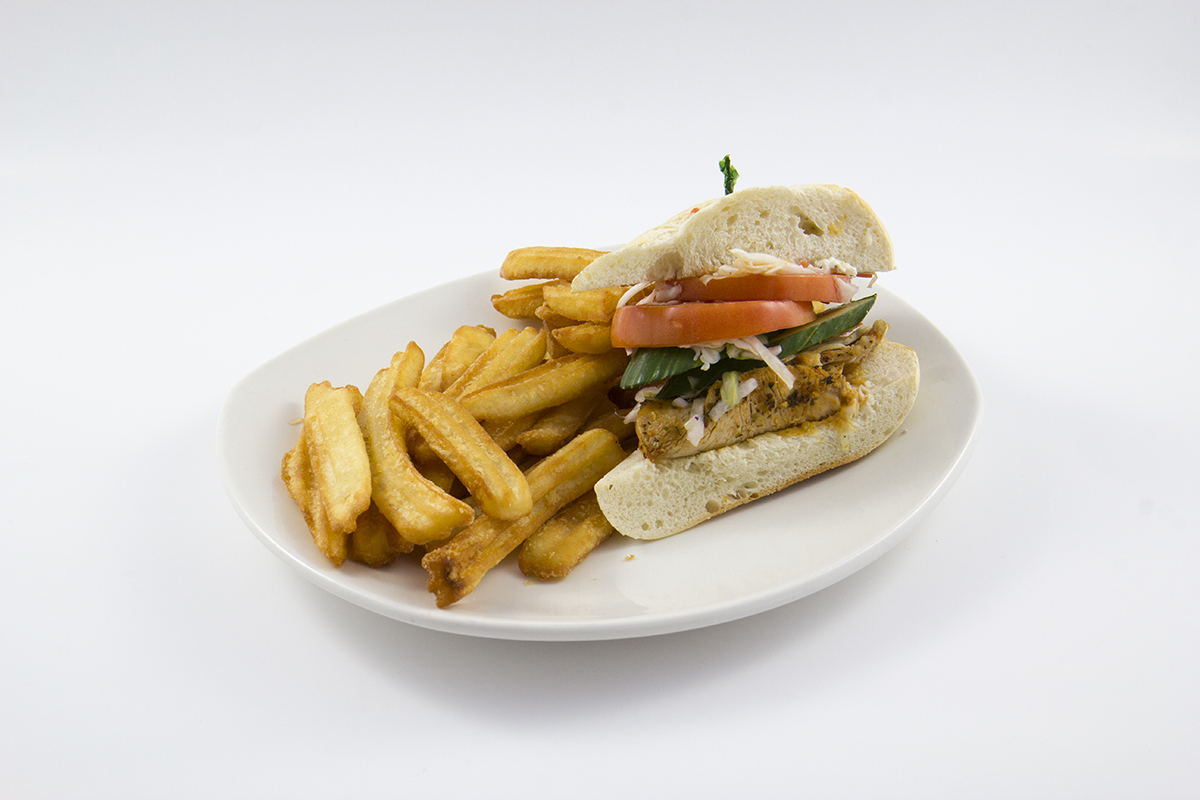 St.Louis Menu: 1/2 Louisiana Turkey Sandwich